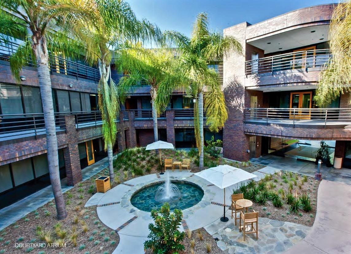 San Diego Counseling Office Building Courtyard